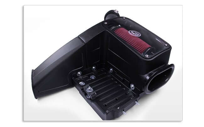 1998-2003 Powerstroke V8-7.3L Diesel Cold Air Intake S&B 75-5062 (Cleanable)