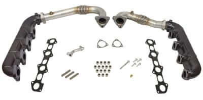 2008-2010 Ford 6.4L UpPipe & Manifold Kit BD 1041481 canadiandieselonline.ca