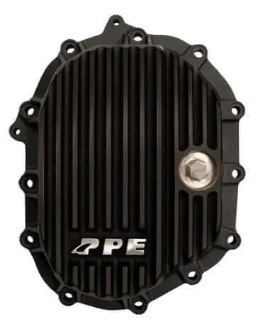 2011-2014 GM PPE Front Aluminum Differential Cover - Black PPE - 138041020