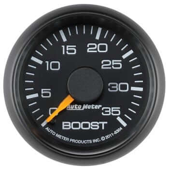 "Chevy Factory Match 2-1/16"" BOOST Gauge"
