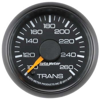 "Chevy Factory 2-1/16"" Trans Temp Gauge"