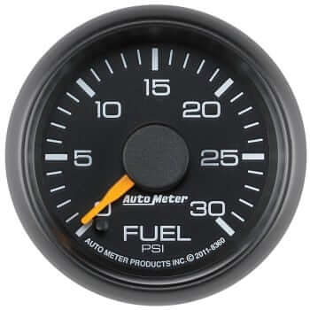 "Chevy Factory 2-1/16"" Fuel Pressure Gauge"
