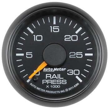 "Chevy 2"" Rail Pressure Gauge"