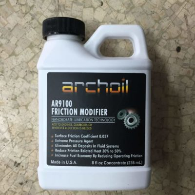 Archoil Nanoborate Friction Modifier 8oz GET 2 BOTTLES AND ONLY PAY SHIPPING FOR THE PRICE OF 1 BOTTLE! AR9100-8×2