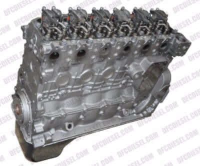 5.9L Dodge Cummins w Tone Ring Crank Diesel Short Block DFC 599899SB