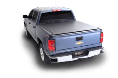 2007 - 2013 GM Full Size w/Track System 8.0 Bed w/Track System TruXedo Lo Pro QT #1 Selling Soft Roll-Up Tonneau Cover TX 571701