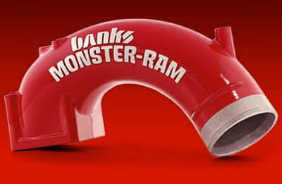 "1998-2002 Dodge Monster-Ram Air Intake Kit 3-1/2"" with 3-1/2"" Boost Tube BAN42764"