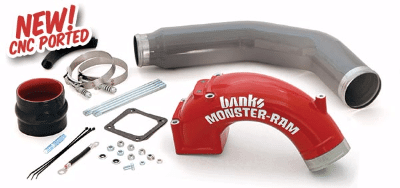 "2003-2007 Dodge 5.9L Monster-Ram 3-1/2"" with 3-1/2"" Boost Tube BAN42766"