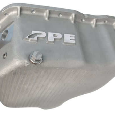 2001-2010 GM 6.6L High Capacity, Cast Aluminum Oil Pan - RAW PPE 114052000