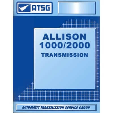 Allison 1000-2000 Transmission Tech Manual TCS 1000