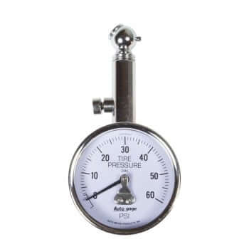 TIRE PRESSURE, 0-60 PSI, AUTO GAGE AM 2343