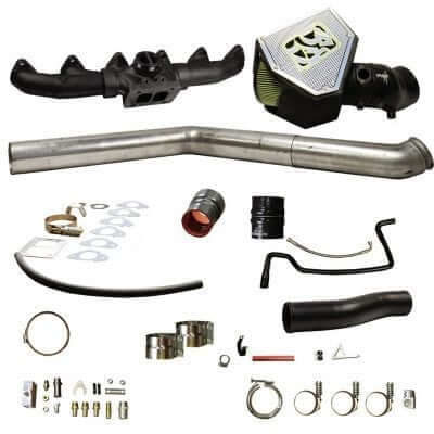 2010-2012 Dodge 6.7L Rumble B Turbo Install Kit, S400 - BD 1045702