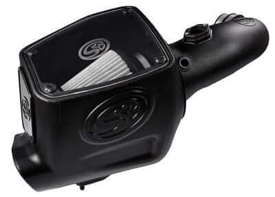2008-2010 Ford Powerstroke 6.4L Cold Air Intake (Dry Extendable Filter) S&B  75-5105D