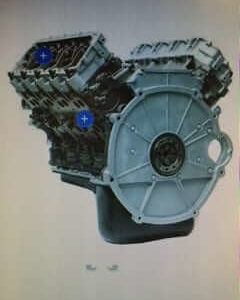 2006-2007 Ford 6.0L 20MM Street Series Auto Trans Long Block Engine DFC SS60060720AULB