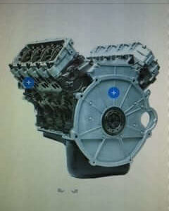 2003 Ford 6.0L Tow/Haul Series Auto Trans Long Block Engine DFC TH602003AULB
