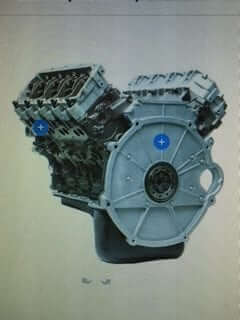2004 Ford 6.0L Tow/Haul Series Auto Trans Long Block Engine DFC TH602004AULB