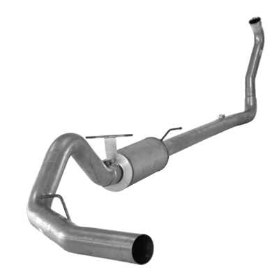 "2003-2007 Ford 4"" Turbo Back Single Systems F250/350/Harley, Race Exhaust Auto/Manual, EC-CC/SB-LB-Dually, 3 ½"" DP FLO 524"