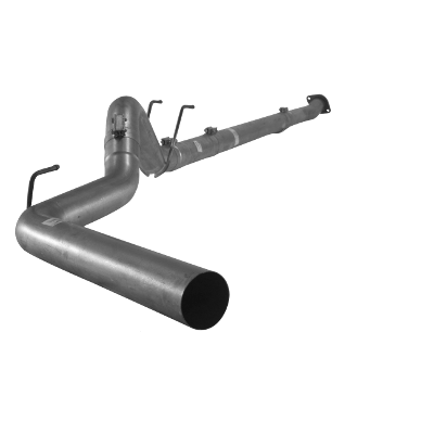 "2011-2017 Ford 6.7L 4"" Downpipe Back Single F350/F450/F550, Cab & Chassis No Bungs, No Muffler FLO 877NM"