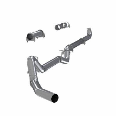 MBRP Exhaust 2001-2007 Chev 6.6L 4″ Down Pipe Back Single Side Off- Road Exhaust with Muffler Aluminized