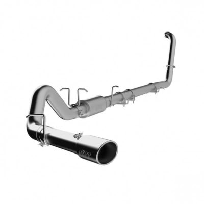 MBRP Exhaust 2003-2007 Ford 4″ 6.0L Turbo Back Exhaust – MBRP S6212AL