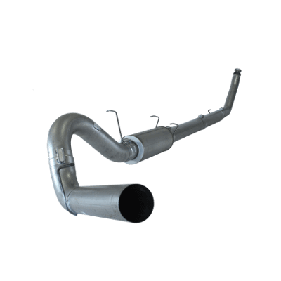 """1994-2002 Dodge 5.9L 5"""" Stainless Turbo Back Single System 2500/3500, Race Exhaust, 4"""" Downpipe RC-EC/SB-LB-Dually No Muffler FLO SS602NM"""