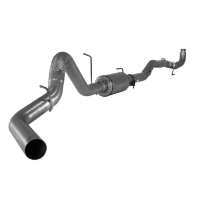 "2011-2015 Chev/GMC Stainless Steel 4"" Down Pipe Back Exhaust 2500/3500, LML, Race Exhaust EC-CC/SB-LB-Dually FLO SS864"