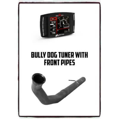 2007-2012 Dodge Bully Dog Tuner with Front Pipes CDO DODGE 40428/835NB