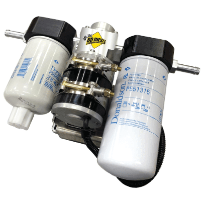 2005-2009 Dodge 5.9L/6.7L Flow-MaX Fuel Lift Pump c/w Filter & Separator - BD 1050310DF
