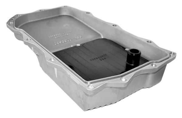 Heavy-Duty Aluminum Transmission Pan - Ram 1500 Brushed - PPE